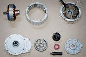 tecnologia del motore della bici elettrica