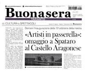 Articolo di Buonasera Taranto del 31 agosto 2018