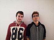 Alex y José Antonio reivindicaron el derecho de los chicos a asistir a la asamblea.
