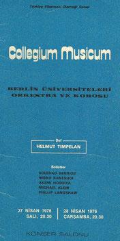 Collegium Musicum Berlin - Freie Universität / Technische Universität Berlin