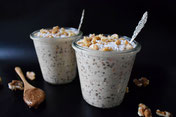Carrotcake overnight oats