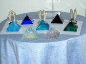 """Pyramiden aus Glas"""