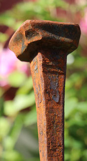 Rosenstab, handgeschmiedet 100% Swiss Made