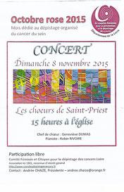 Concert 8 nov 2015