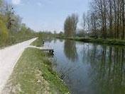 Chemin de halage Bord de la Somme