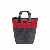 Filz Tasche blau Shopper EM-EL Collection Schweiz