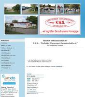 Homepage der KWG