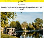 Hausboot mieten Brandenburg - Reisevergnügen