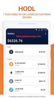 hodly app portafoglio criptovalute bitcoin ethereum mobile iphone samsung