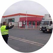 Werkschutz, LKW, WeserGold, SDS Sicherheitsdienst