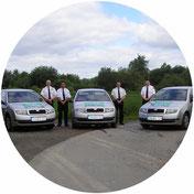 Revierdienst, Streife, Dienstwagen, Streifenfahrer, SDS Sicherheitsdienst
