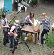 Dreharbeit WDR-Lokalzeit