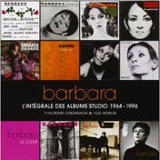 CD Barbara L'intégrale des albums studio