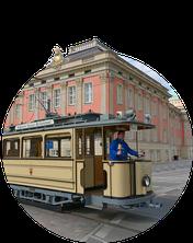 Tram Touren in Potsdam: Lindner-Wagen