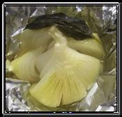 まるごと玉ねぎのホイル焼き