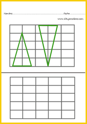 duplicar triángulos verdes