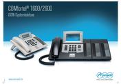 Titelbild Poster: ISDN-Systemtelefone Auerswald COMfortel 1600/2600