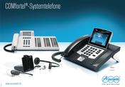 Titelbild Poster: Auerswald COMfortel ISDN- & IP-Systemtelefone