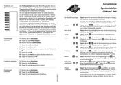 Titelbild Kurzbedienanleitung: Auerswald COMfortel 2600