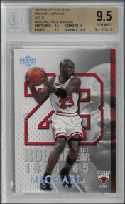 THE ROOKIE YEAR - No. MJ2  (#d 2/5)