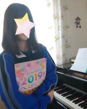 はるピアノ教室に通われている中学1年のYちゃんです
