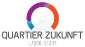 Quartier Zukunft; Karlsruhe; Reallabor; KIT; Labor Stadt; Logo