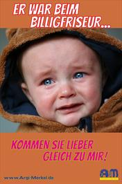 www.Argi-Merkel.de - Er war beim Billigfriseur - Friseur Frensdorf