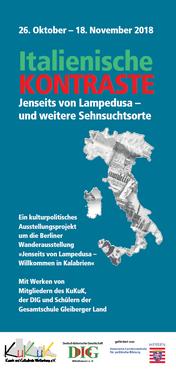 Italienische Kontraste - Folder der Deutsch-Italienischen Gesellschaft Mittelhessen e. V.