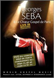DVD Georges Séba & Le Choeur Gospel de Paris