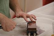 Garantiert scharf Messer nach einem Schärf-Workshop
