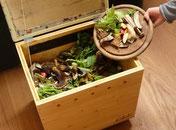 So verwende ich die Kompostier-Kiste