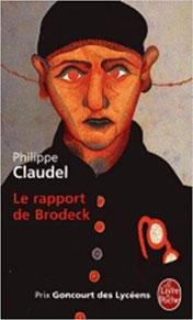Courverture : le rapport de Brodeck - Philippe Claudel