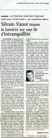 Le Monde. Mars 2002.