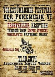 Volkstümliches Festival der Punkmusik