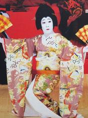 歌舞伎座タワーで写した勘三郎さんです