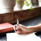 Les bienfaits de l'écriture thérapeutique