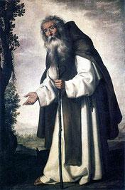 Saint Antoine le Grand, Francisco de Zurbarán, XVIIe siècle