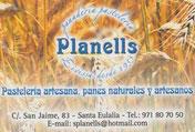 Planells Pasteleria artesana
