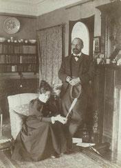 Ellen und Francis Darwin