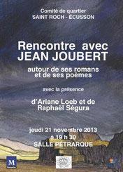 Jean Joubert - Création Raphaël Segura - Quartier st Roch-Ecusson