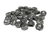 Aluminiumplomben 8 mm rund