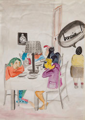 Croquis de jeunesse par Nicolas Bulloz