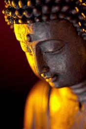 Buddha beim meditieren