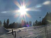 Blick von unserer Bergstation IGLU
