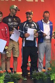 M. belegte den zweiten Platz in seiner Altersklasse.