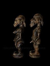 Sabariko Kone Senufo art Tugubele couple Senoufo