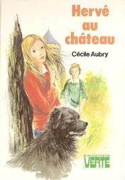 Livre Hervé au château de Cécile Aubry
