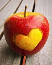 herz Apfel teenager geburtstag feiern geschenkideen mädchen
