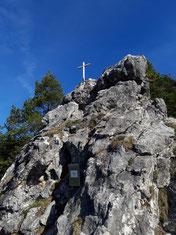 Spitzmäuerl Gipfelkreuz