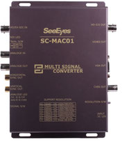 HD-SDI/EX-SDI/AHD/TVI/Analog to VGA, HDMI, CVBS マルチコンバーター 製品写真